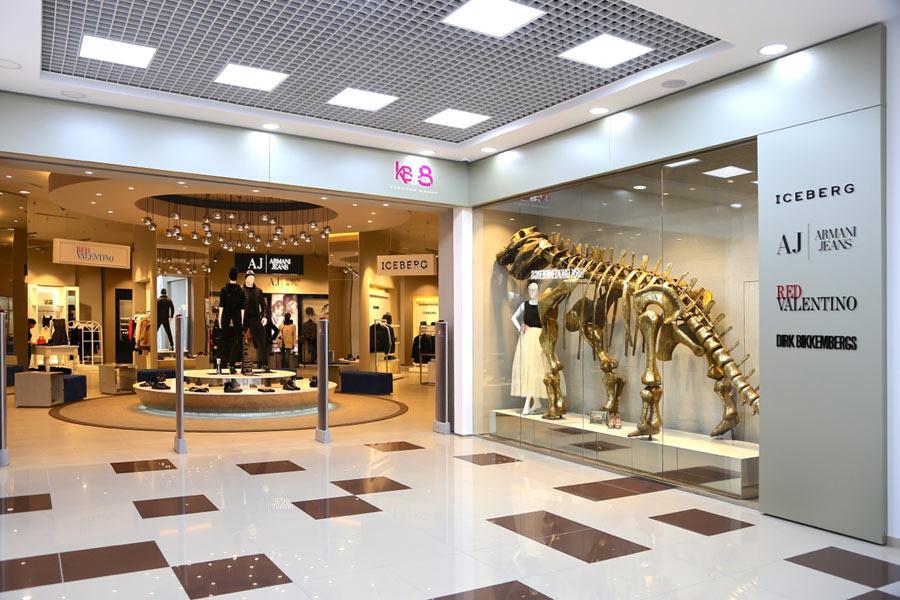 Установка противокражной системы для магазинов одежды