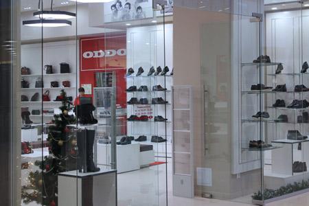 Установка антикражных систем для магазина обуви