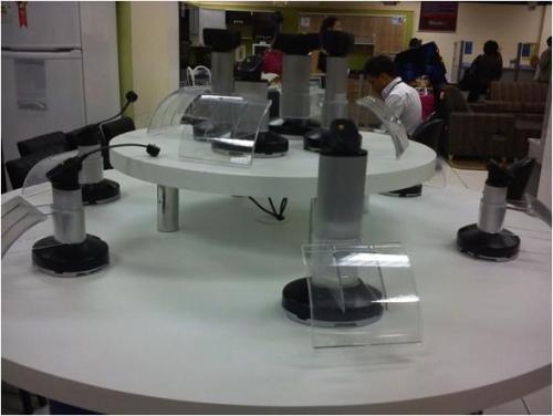 Противокражные системы для мобильных телефонов - системы inVue в магазинах CASAS BAHIA Бразилия