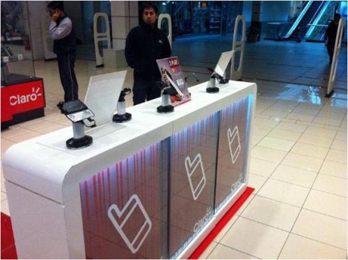Противокражные системы для салона мобильной связи Чили
