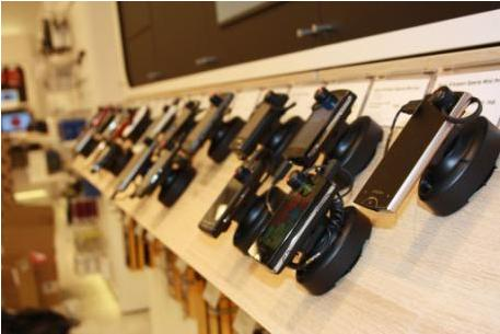 Противокражные системы для салонов ведущего поставщика телекоммуникационных услуг Дании