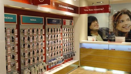 защита телефонов от краж в свободной выкладке МТС